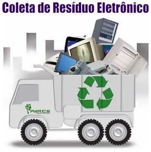 COLETA de lixo eletrônico Curitiba e região
